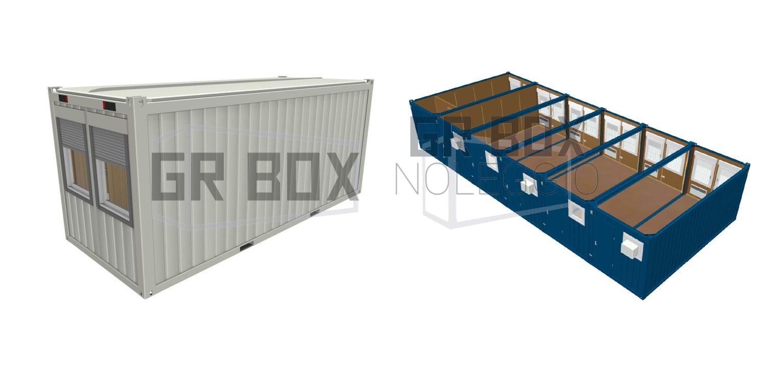 monoblocchi container abbinati