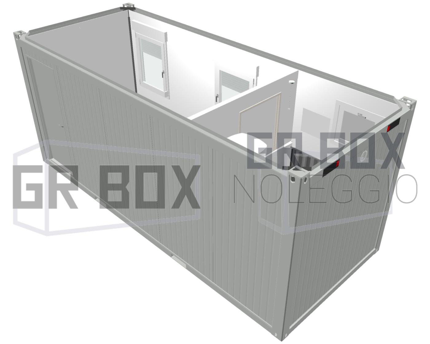 noleggio box monoblocchi con bagno