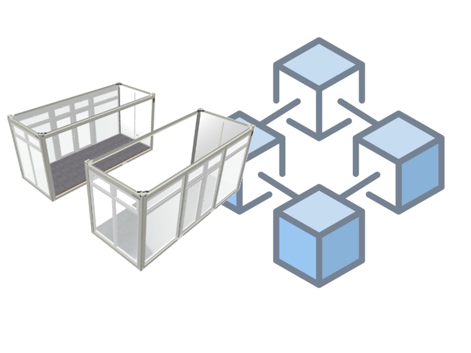 Noleggio container abbinabili